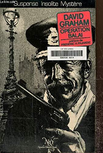 9782730401104: Opération Balai (Collection Le Miroir obscur)