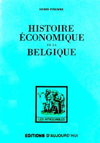 9782730702782: Histoire Economique de la Belgique (French Edition)