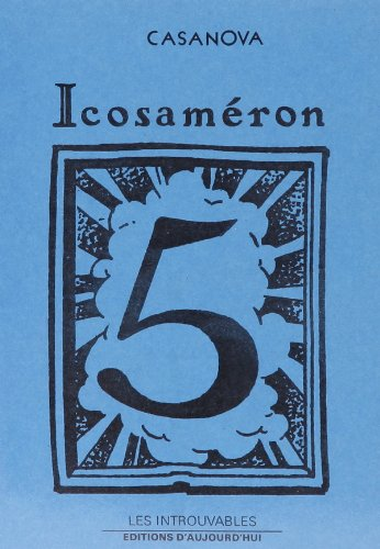 9782730702935: Icosameron (5 Vol)