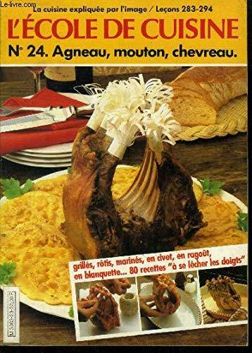 9782730900249: L'École de cuisine : 12 leçons filmées et 83 recettes pour les appliquer