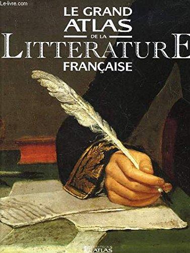 9782731216127: Le grand atlas de la littérature française