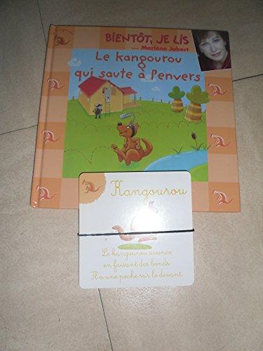 9782731233872: Le kangourou qui saute à l'envers (Bientôt je lis avec Marlène Jobert) Livre+CD