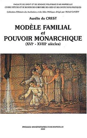 9782731403053: Mod�le familial et pouvoir monarchique (XVI�me-XVIII�me si�cles)