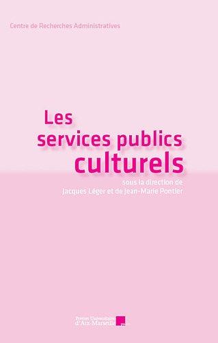 9782731408232: Les services publics culturels