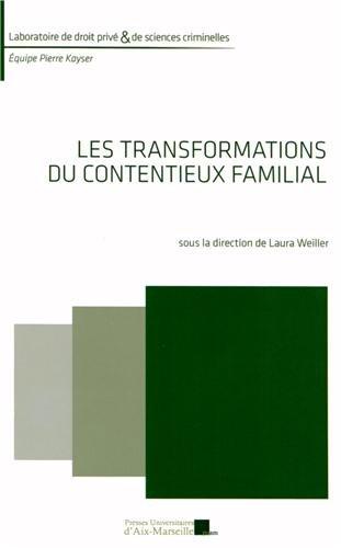 9782731408362: Les transformations du contentieux familial