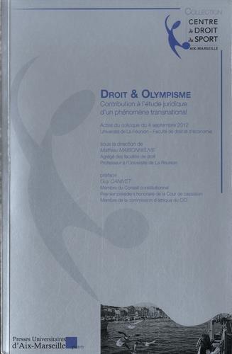 Droit & Olympisme Contribution à l étude: Sopus la direction