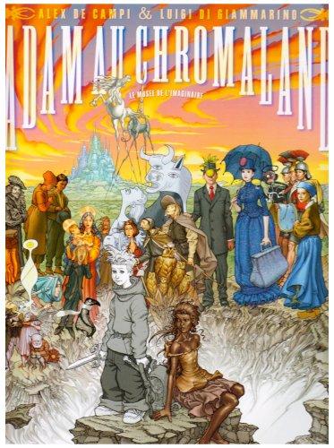 9782731617849: Adam au Chromaland, Tome 1 : Le musée de l'imaginaire