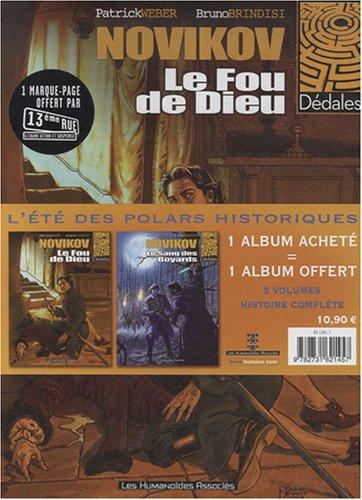 9782731621457: Novikov : Pack en 2 volumes : Tome 1, Le Fou de Dieu ; Tome 2, Le sang des Boyards