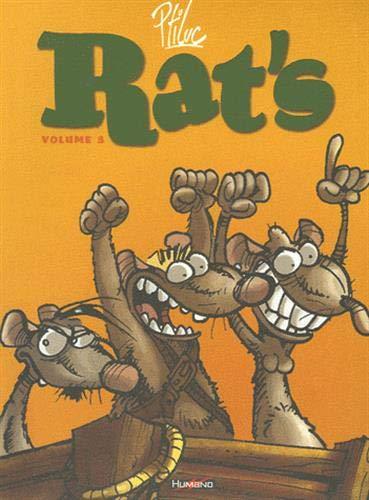 RAT'S T03 : T07 À T09: PTILUC