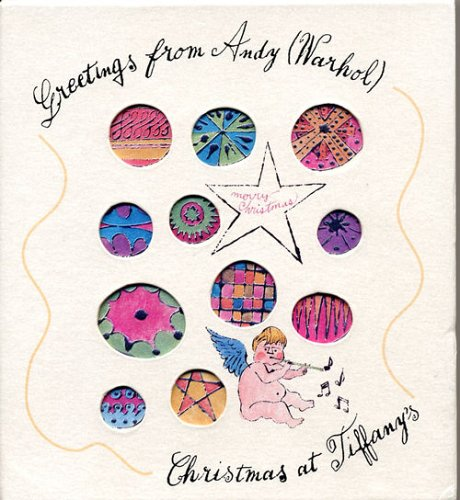 9782732433646: Greetings from Andy (Warhol) : Christmas at Tiffany's