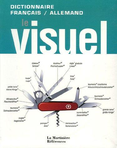 9782732434346: dictionnaire visuel français/allemand