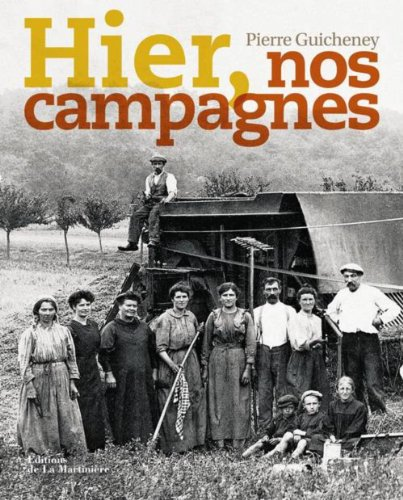 9782732446707: Hier, nos campagnes (French Edition)