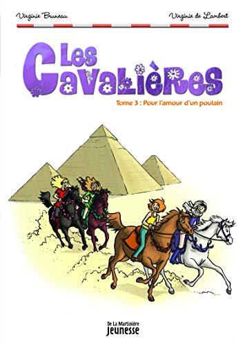 9782732449067: Pour l'amour d'un poulain . les cavalieres, tome 3