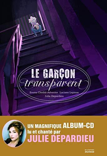 9782732451824: Le garçon transparent (1CD audio)