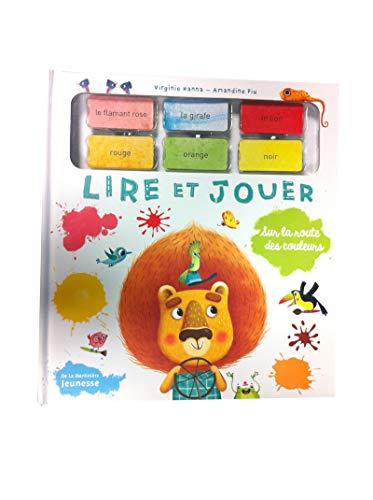 9782732454702: Sur La Route Des Couleurs (English and French Edition)