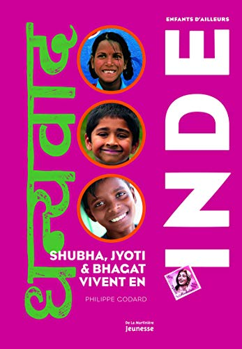 9782732454740: Shubha, Jyoti Et Bhagat Vivent En Inde (English and French Edition)