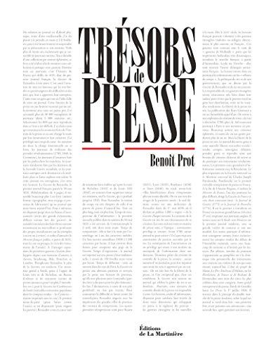 Trésors de presse: Benoit Prot, Gregory Bricout
