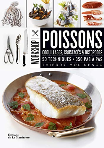 9782732471198: Workshop Poissons - Coquillages, Crustacé & Octopodes