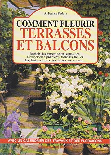 9782732814476: Comment fleurir terrasses et balcons