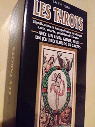 9782732818597: Les Tarots : Signification et Interpétation de chaque carte, oracle, prévision de l'avenir (1 livre + 78 cartes)