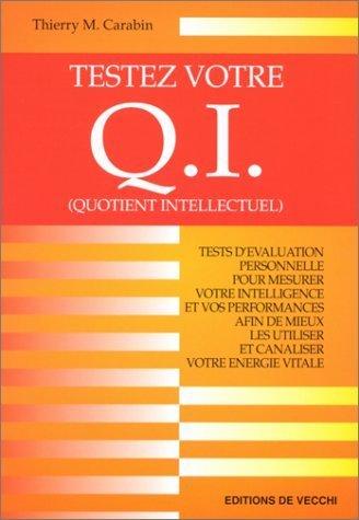 9782732819167: Testez votre QI (quotient intellectuel)