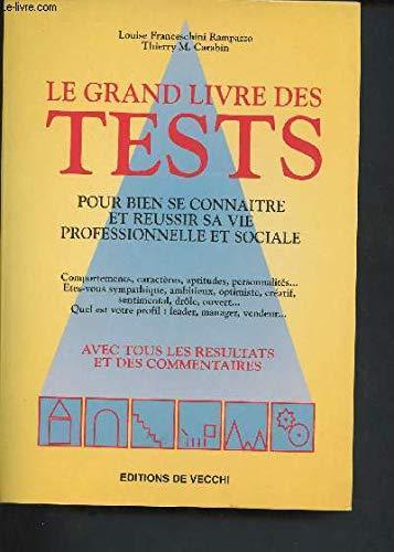 9782732830131: Le grand livre des tests