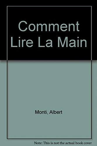 9782732843179: COMMENT LIRE LA MAIN