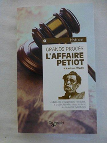 9782732843605: L'Affaire Petiot
