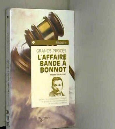 9782732843636: L'Affaire Bande à Bonnot