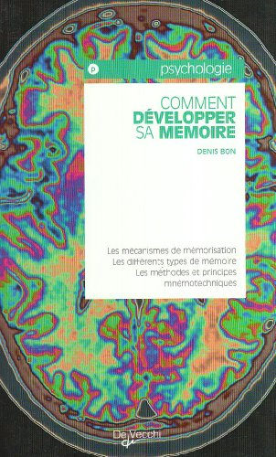 9782732843858: comment développer sa mémoire