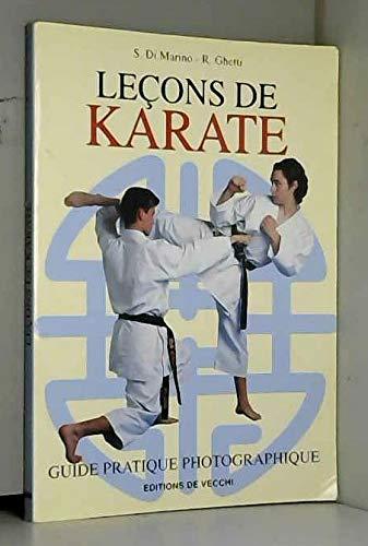 9782732867519: Leçons de karaté : Guide pratique photographique