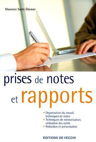 9782732880303: Prises de notes et rapports