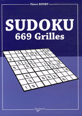 9782732886909: Sudoku : 669 grilles