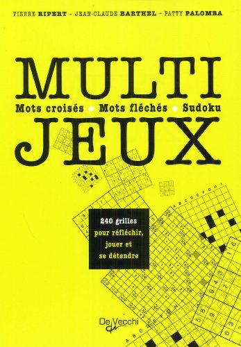 9782732896397: Multi-jeux : Mots croisés, mots fléchés, sudoku