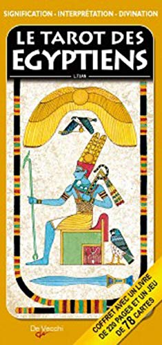 9782732898407: Le tarot des Egyptiens : Signification, interprétation et divination