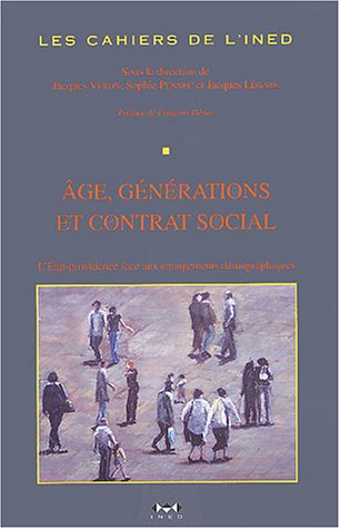Age, générations et contrat social: L�gar�, Jacques