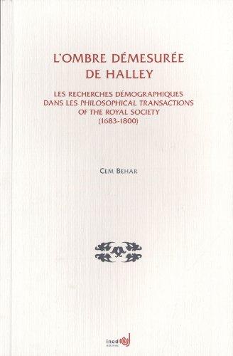 L'ombre démesurée de Halley : Les recherches: Cem Behar