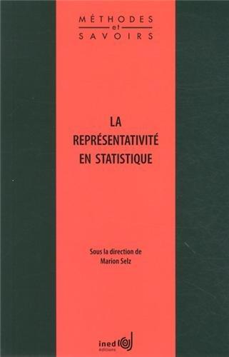 Représentativité en statistique (La): Selz, marion