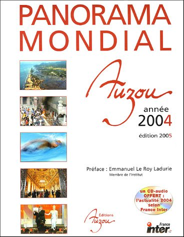 9782733808009: Panorama mondial de l'année 2004 (1CD audio)