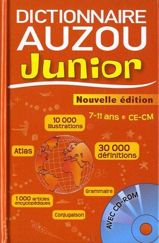 9782733816868: Dictionnaire Auzou Junior CE-CM 7-11 ans (1Cédérom)