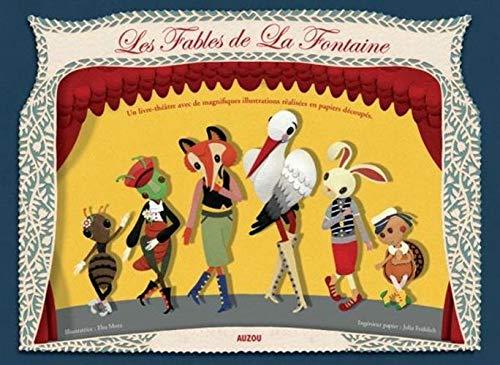 9782733818503: Fables de la Fontaine (papiers découpés en relief) (French Edition)