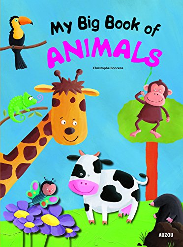 9782733819449: My Big Book of Animals