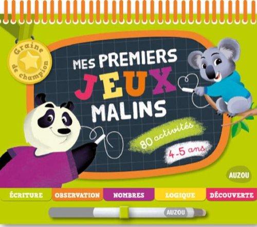 9782733824184: Mes premiers jeux malins 4-5 ans - Nouvelle Edition