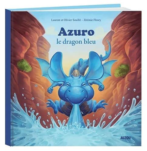 9782733824368: Azuro, le dragon bleu