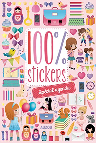 9782733825495: 100% stickers spécial agenda