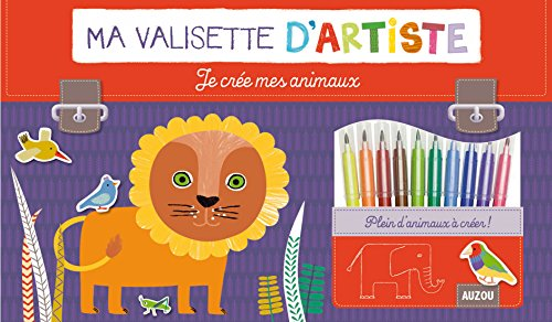 9782733825518: Je cr�e mes animaux (Collection Ma valisette d'artiste)