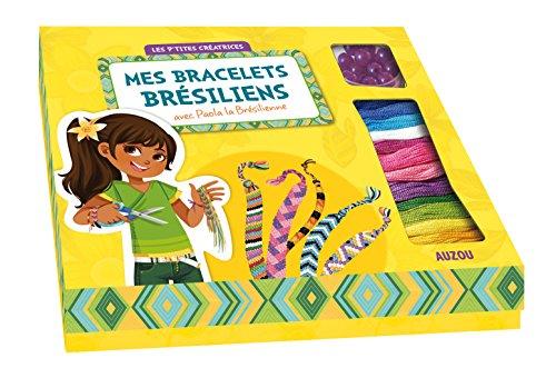 9782733828649: Mes bracelets br�siliens avec Paola la Br�silienne