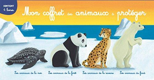 MON COFFRET DES ANIMAUX À PROTÉGER: BONCENS CHRISTOPHE