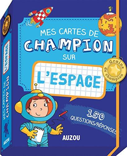9782733828984: Mes cartes de champion - Lespace