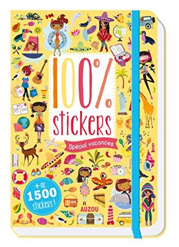 100 STICKERS - SPECIAL VACANCES: Lilidoll, M. Guesné